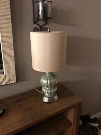 white and gray table lamp Seaford, 11783