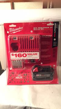 Red and black milwaukee battery charger 3746 km
