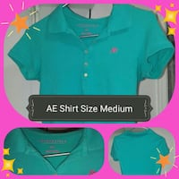 American Eagle 'Polo Shirt' White Pine, 37890