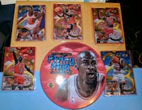 1998 Upper Deck Michael Jordan metal cards Henderson, 42420