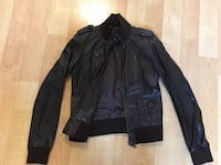 Jacket by The Leather Collection, lined, dark brown, ladies Medium - $90 Mississauga, L5L 5P5