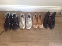 six pairs of assorted shoes Hamilton, L8E 1G5