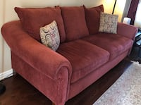 Red sofa from Brick excellent condition- Moving sale Richmond Hill, L4C 5V4