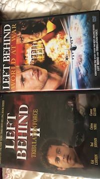 Left behind part 2 and 3 dvd Prudenville, 48651