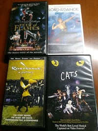 Lord of the dance, riverdance , Cats, feet of flam Baltimore