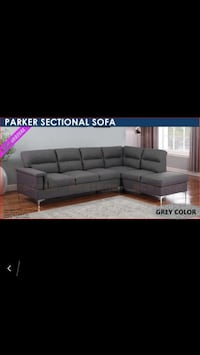 ••••Parker Fabric Sectional Sofa••••