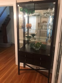 Crate and barrel dark wood armoire Grosse Pointe, 48230