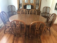 brown wooden dining table set Charleston, 29414