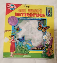 All about Butterflies Book & Observation Kit