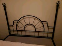 Double bed headboard, footboard and rails Mississauga, L5N 7N3
