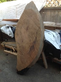Red Cedar Burls Kidney Shaped