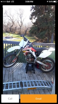 white and black motocross dirt bike screenshot