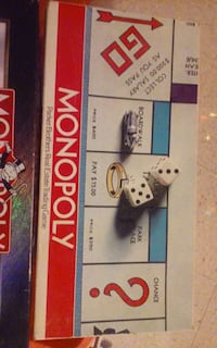 monopoly parker brothers real estate trading game