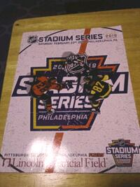 Philadelphia Flyers stadium series program