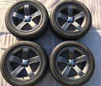 "Dodge Challenger Charger 300 18"" Factory Oem Wheels and Tires Charcoal Brandon, 33510"