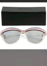 DIOR HOMME  Blue & Grey Cat Eye Sunglasses   6261 km