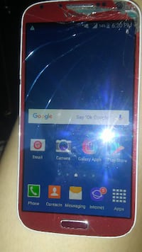white Samsung Galaxy android smartphone Winnipeg