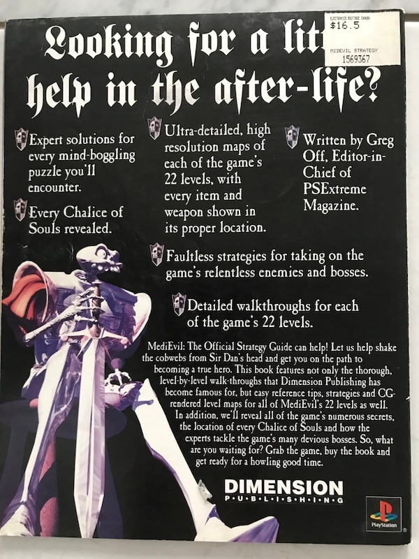 MedIEvil - The official strategy guide for PlayStation fb04a25a-3ed9-4685-9ab7-5fd0dbdf95aa