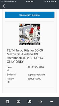 Mazda Turbo S-3 Kit 06-09 PayPal is excepted  Fairfax