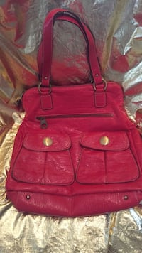 red leather 2-way handbag Johnstown, 15901