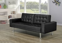 Brand New Leather Sofa Bed with Arms & 3 Positions TORONTO