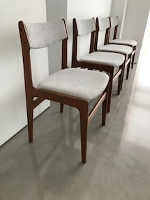 Mid Century Danish design chairs