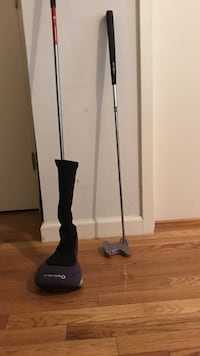 Golf putter and driver - pair  New York, 10003