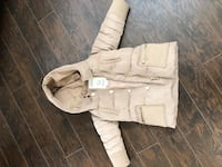 Kids Zara Fall/Winter Down/Feather Hooded Jacket Surrey, V3S 5H1