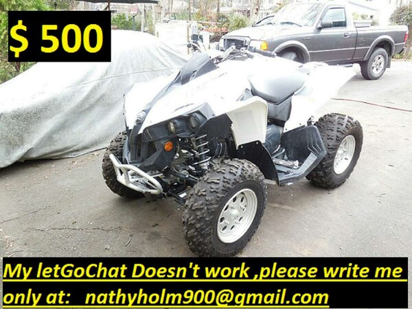Used Orlando White And Black Atv For Sale In Orlando Letgo