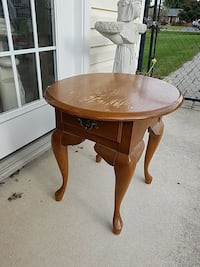 Nice  heavy wood and stand top needs touch up Frederick, 21702
