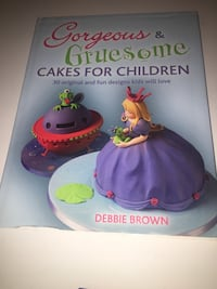 Gorgeous and gruesome cakes for children New York, 11219