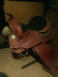 Leather authentic horse sad Kitchener, N2N 1C2