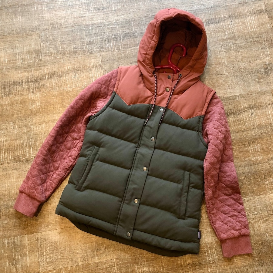 Photo Patagonia Bivy Vest & Quilted Crew Sweater