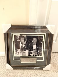 Frank Sinatra and Dean Martin Photo Framed with quote