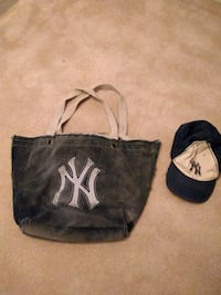 Yankees tote and cap Alexandria, 22315
