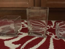 Square and Rectangle Glass Containers