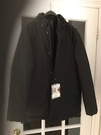 Men New black Pajar jacket size L Beaconsfield, H9W 2B3