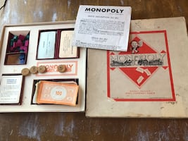 Vintage first Monopoly from France