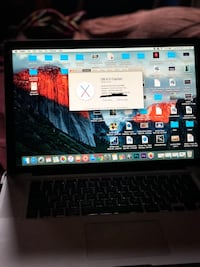 Apple MacBook Pro - late 2008 (256gb) 52 km