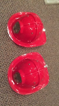 Lot of two fire chief hats from a toy store. Vaughan, L4J 5L7