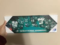 Saskatchewan Roughriders Plaque