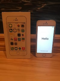iPhone 5S Silver 16GB // Bell ou Virgin