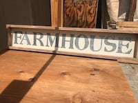 Farm house wooden quote board Bell, 90201