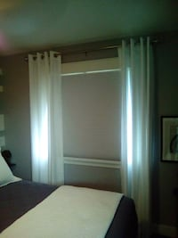 "95"" white curtains Kelowna, V1X 6A8"