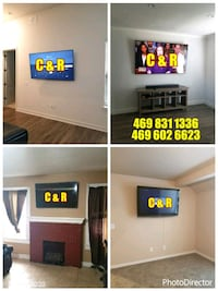 TV MOUNTING SERVICES ALL DFW