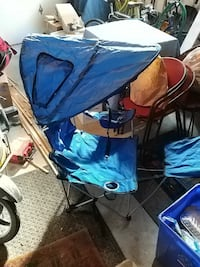 Folding outdoors chair