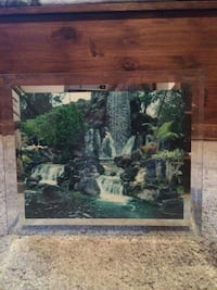 Glass waterfall picture 5$