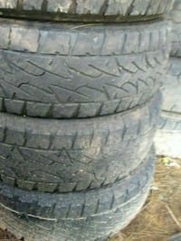 four black auto tire set Kearneysville, 25430