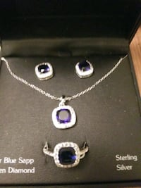 REAL DIAMONDS & SAPPHIRE SET Edmond, 73013