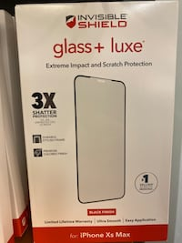 Screen Protector INVISIBLE GLASS Glass+ LUXE IPhone Birmingham, 35206
